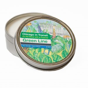 Chicago_GreenLine_Candle_