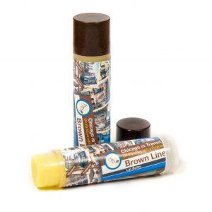 Brown Line Lips